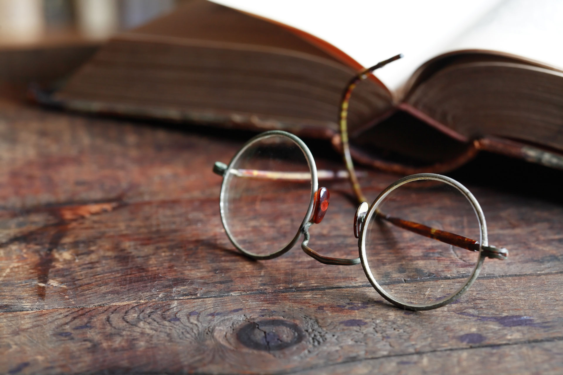 055a52abaf La historia de las gafas
