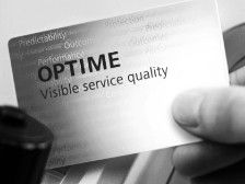 Calidad de servicio visible Optime
